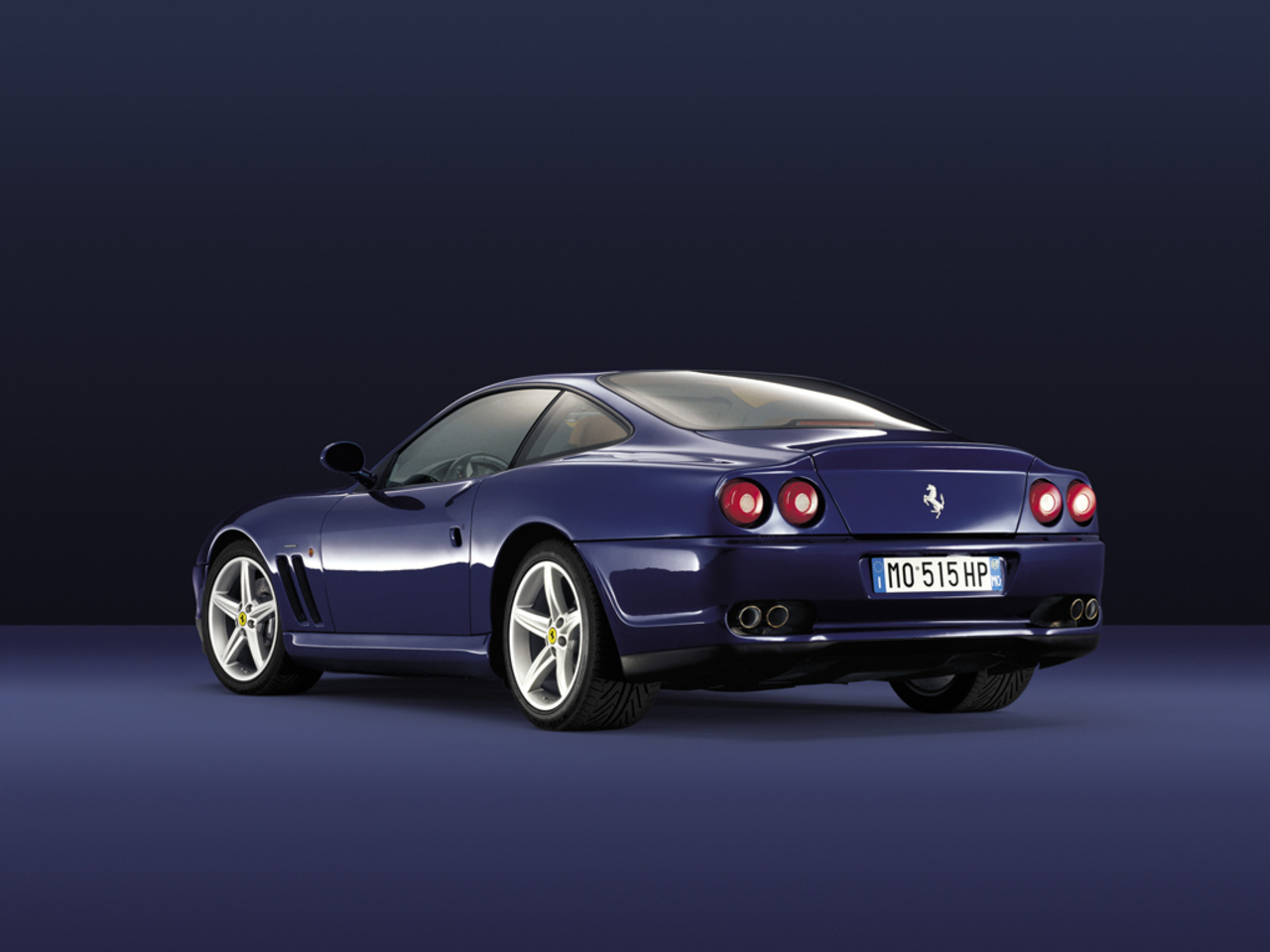 575M Maranello, 3/4 rear view