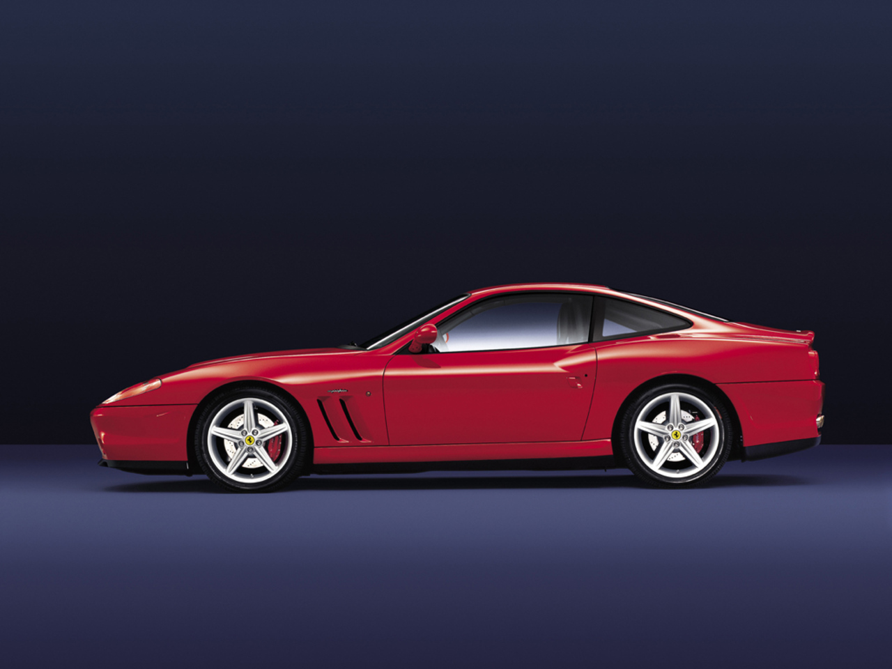 575M Maranello, side view