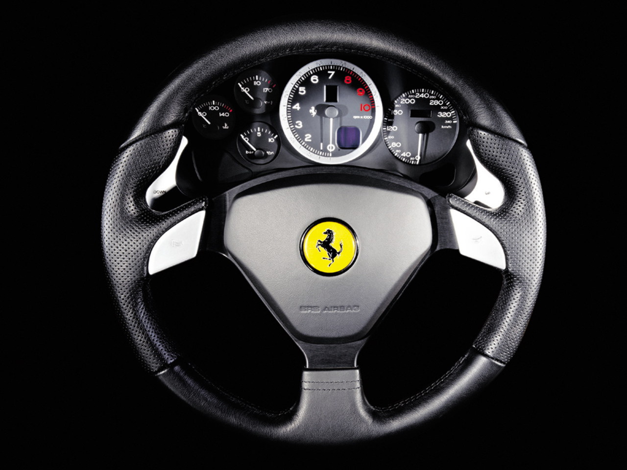 575M Maranello, steering wheel