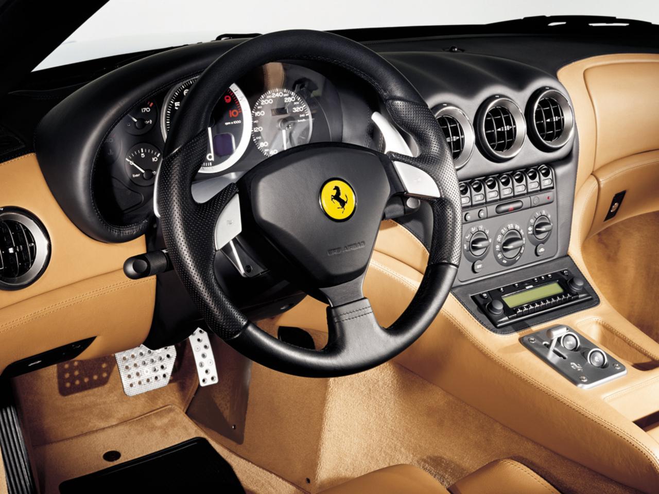 575M Maranello, cockpit