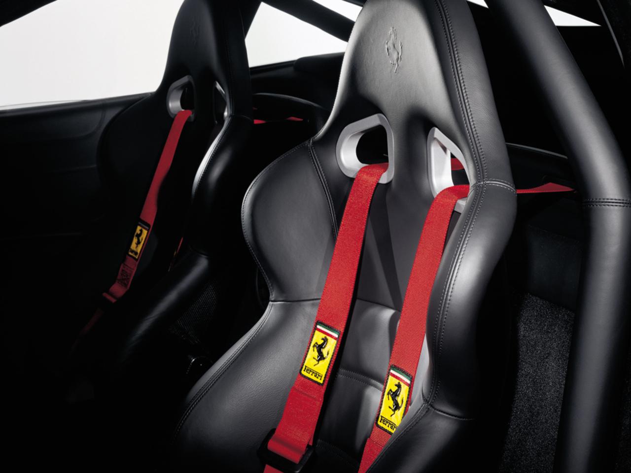 575M Maranello, seats detail