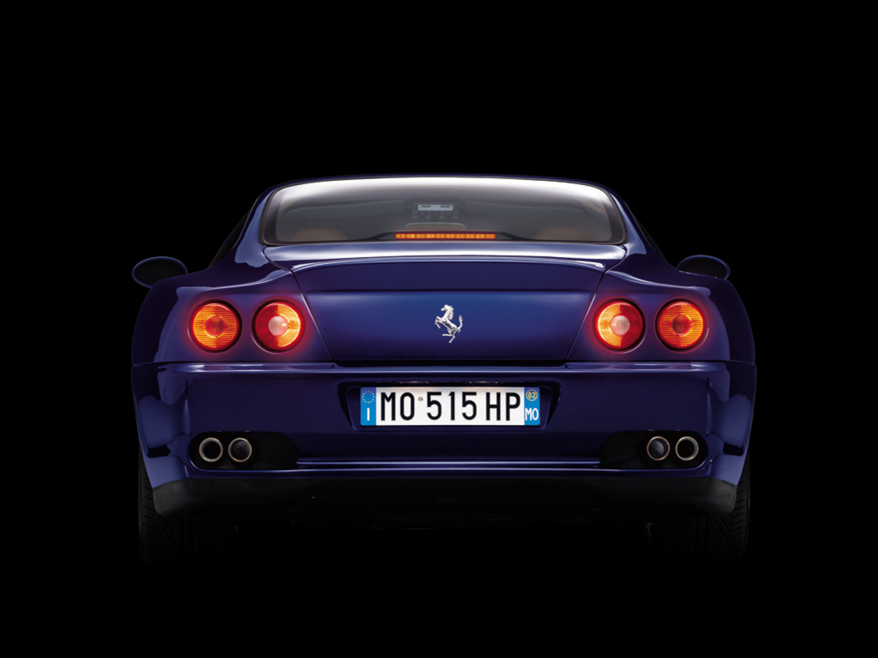 575M Maranello, rear view
