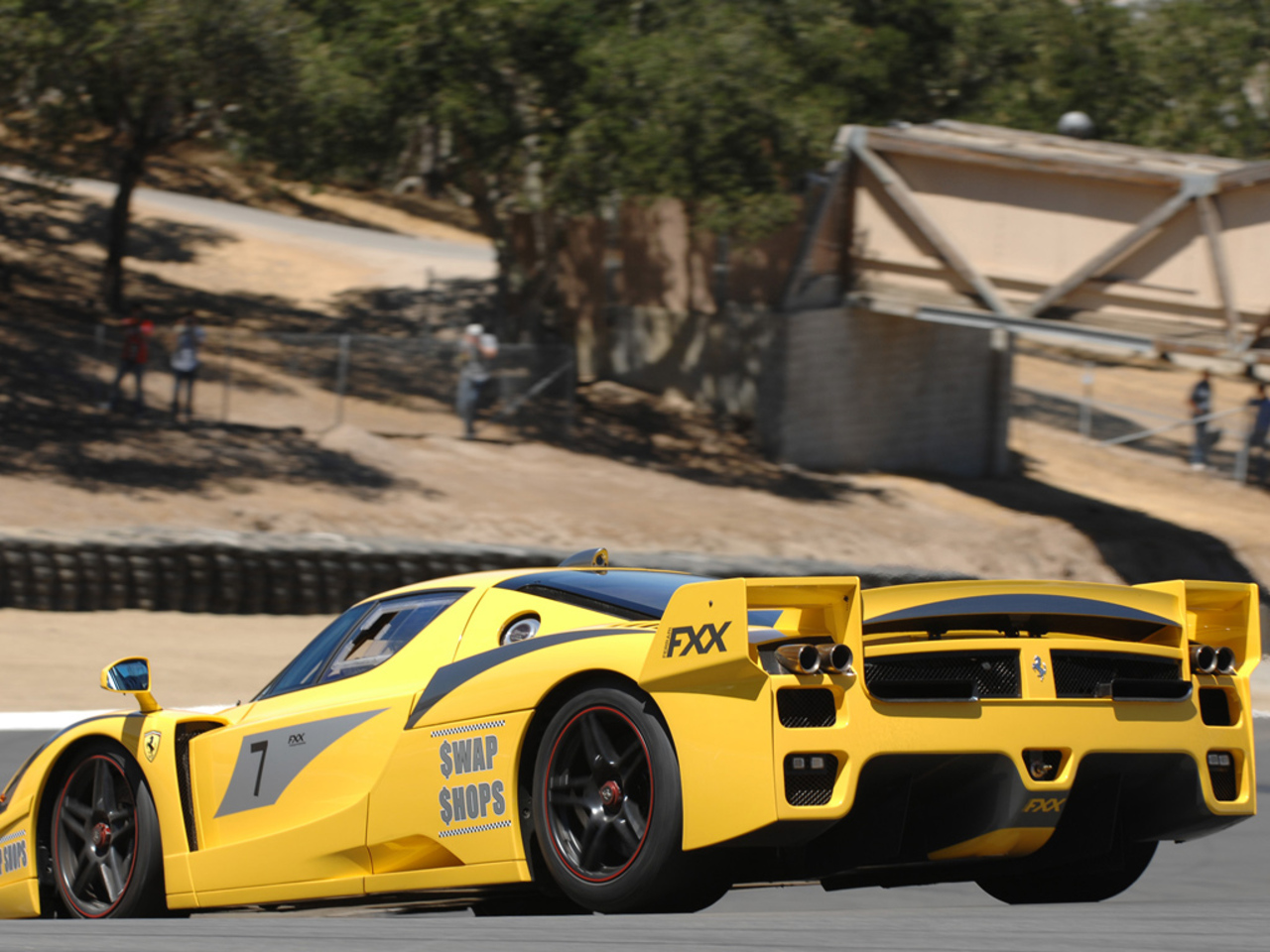FXX Prototype at Laguna Seca circuit