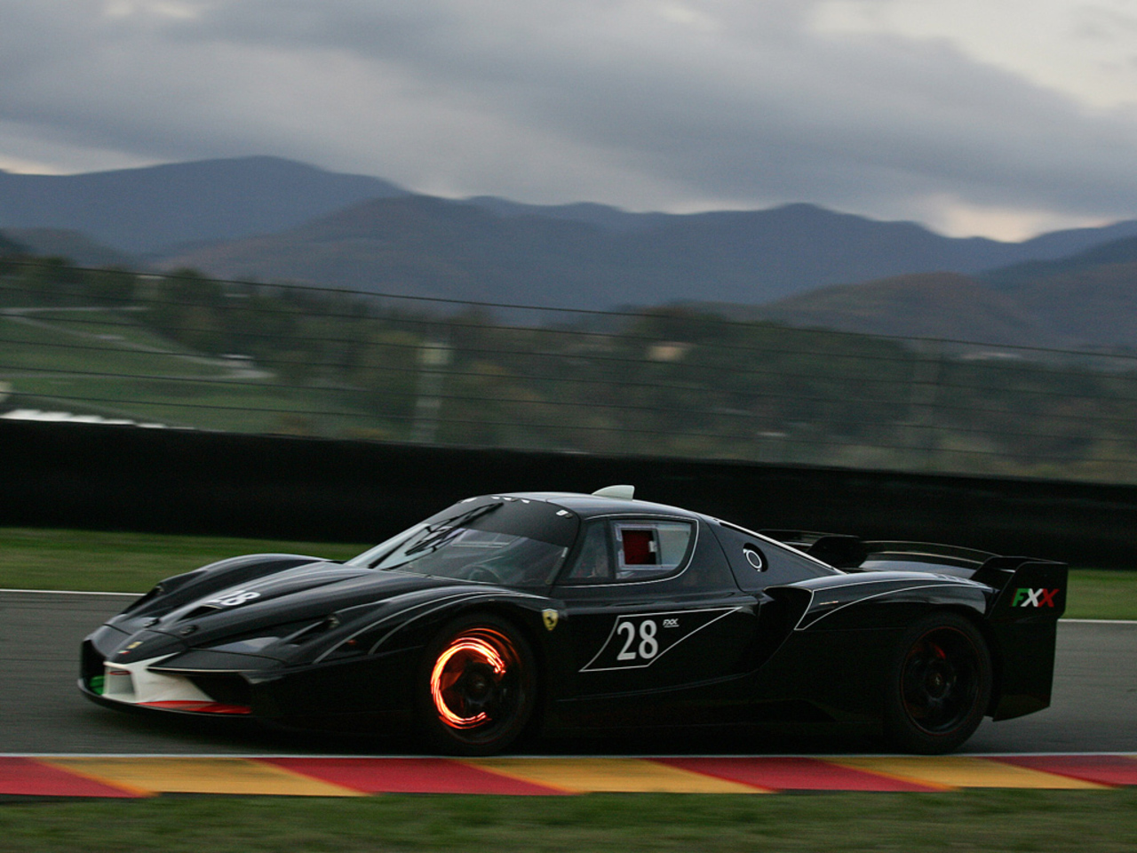 FXX Prototype at Mugello circuit