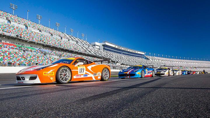 Ferrari Challenge North America, Daytona 2016 - Race 1