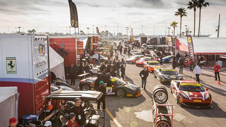 Ferrari Challenge North America, Daytona 2016 - Race 2