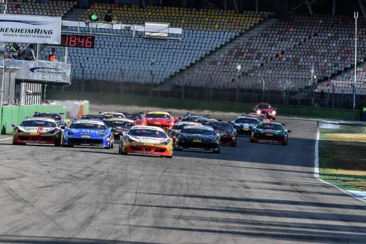 Ferrari Challenge Europe – Hockenheim smiles on Lovat, Leimer and Smeeth