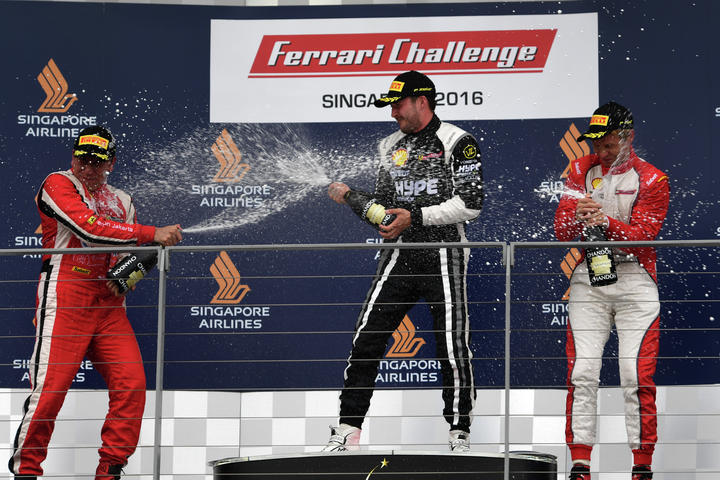Ferrari Challenge APAC - Singapore 2016 Race 1