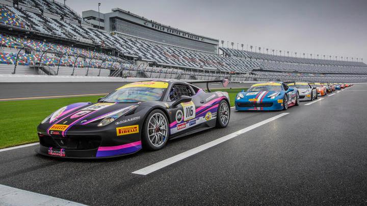 Ferrari Challenge North America, Daytona 2016 - Practice