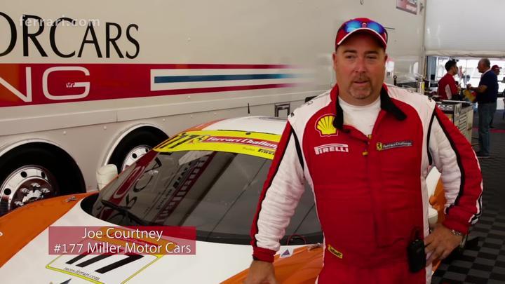 Ferrari Challenge NA - Joe Courtney interview