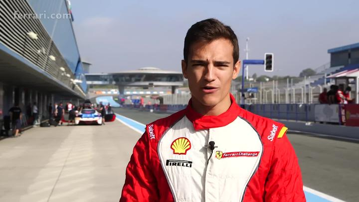 Alex Palou introduces the Jerez Circuit