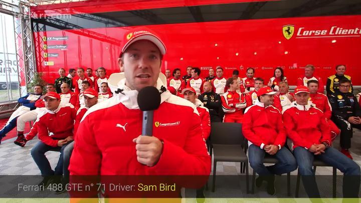 Le Mans – WEC GT drivers meet Ferrari Challenge