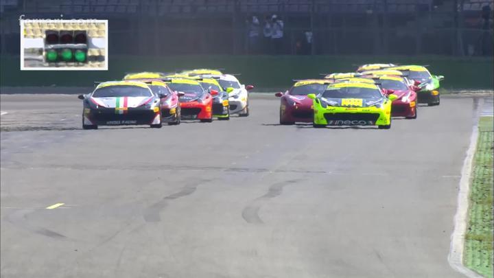 Ferrari Challenge - Europe Coppa Shell: Lovat and Scheltema chase Loefflad