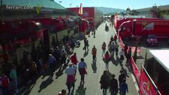 Mugello already packed on Saturday - Paddock buzzing with people