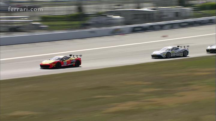 Ferrari Challenge Trofeo Pirelli - Weiland and Jin champions in the final sprint