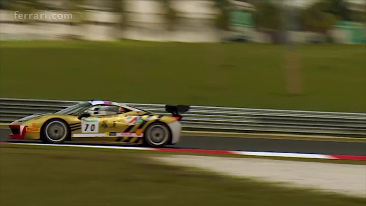 Ferrari Challenge APAC - Sepang 2016 - Race 2