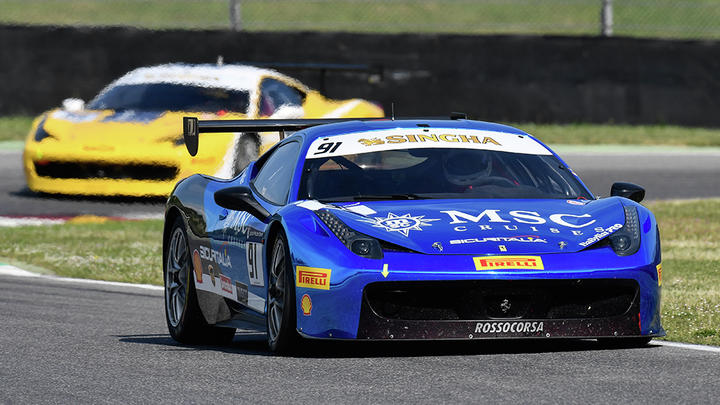 Ferrari Challenge Europe – Prinoth, Grossmann and Smeeth win at Mugello