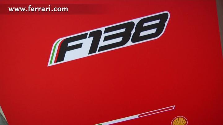 I tifosi ufficiali alla presentazione della F138