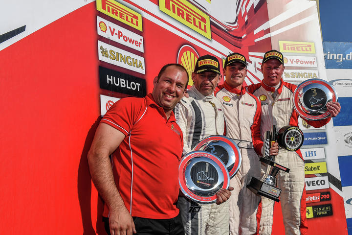 Ferrari Challenge Europe – Smeeth gains the title, wins for Lovat and Grossmann