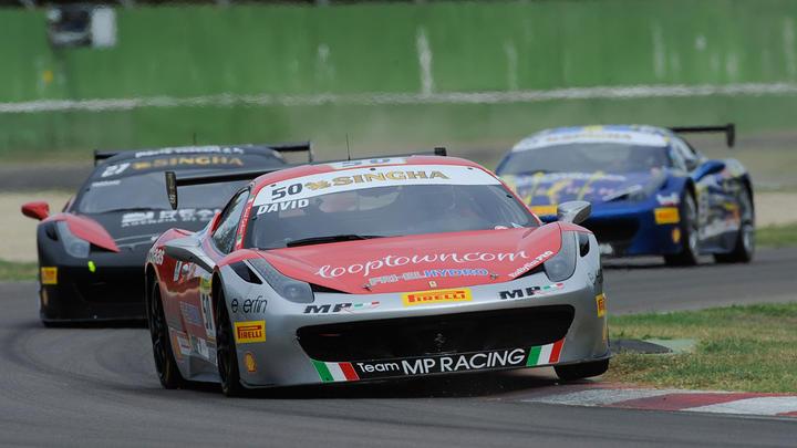 Ferrari Challenge Europe - Race-1 Imola: Grossman, Vezzoni and Prinoth win