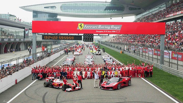 Ferrari Racing Days – Over 40.000 people at Shanghai to share their Prancing Horse passion