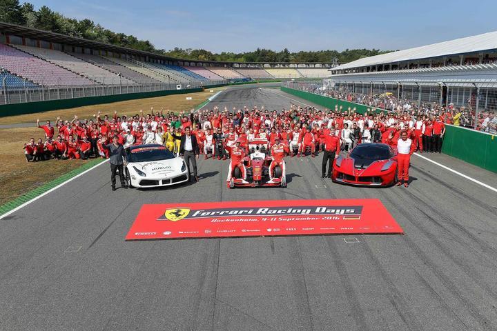 Ferrari Racing Days - Vettel delights fans in Hockenheim