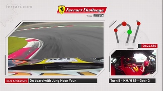 Ferrari Challenge APAC – On Board with 458 Challenge EVO at Inje