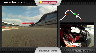 Ferrari 458 Challenge on-board camera: Alexander Martin in Silverstone