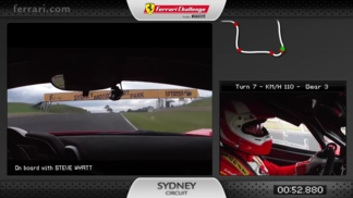 A lap of the Sydney Motorsport Park circuit with Steve Wyatt