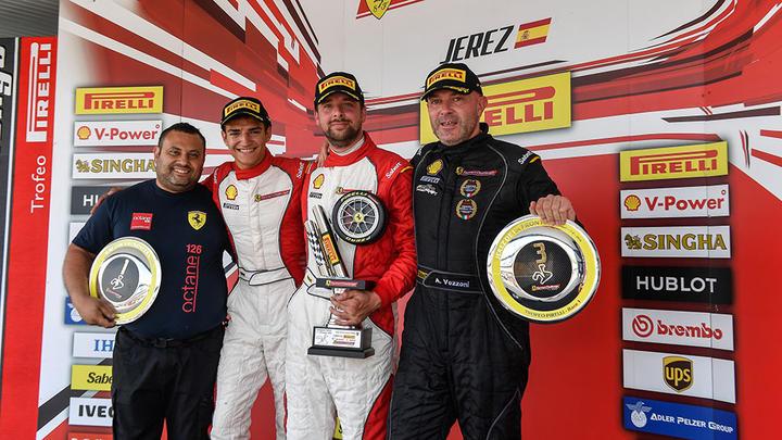 Ferrari Challenge Europe - Jerez 2016 - Race 1