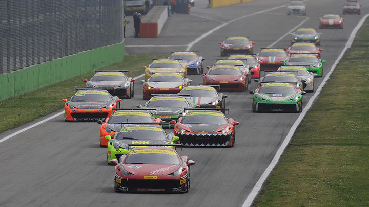 "Ferrari Challenge Europe - ""Babalus"", Nelson and Loefflad shine at Monza"